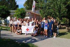 Црвени крст Новог Сада у Одмаралишту у Багремари организовао Камп подмлатка
